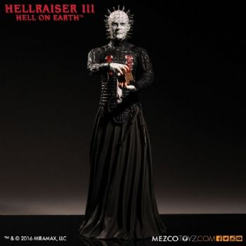"HELLRAISER III HELL ON EARTH PINHEAD 12"" FIGURE MEZCO"